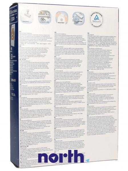 Worek do odkurzacza ES39 Electrolux 4szt. (+filtr) 9002565431,1