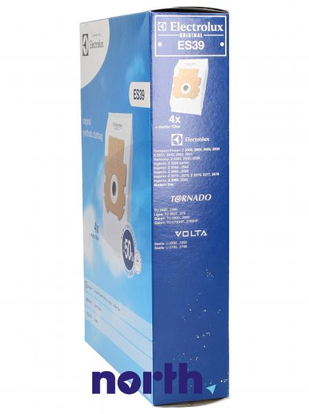 Worek do odkurzacza ES39 Electrolux 4szt. (+filtr) 9002565431,2