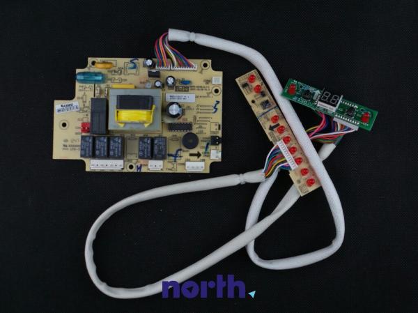 Moduł sterujący skonfigurowany do zmywarki Candy 49008092,0