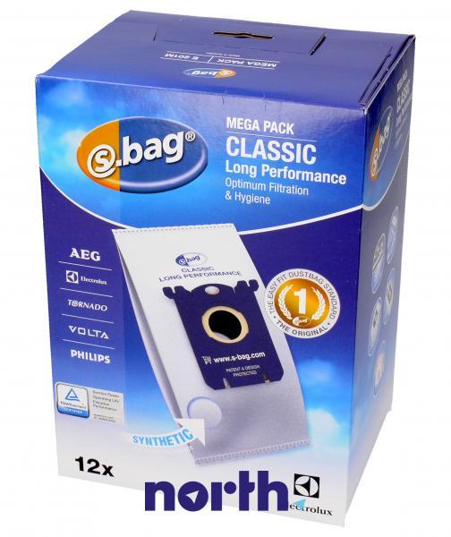 Worki S-Bag E201M (12szt.) do odkurzacza 9002560994,0