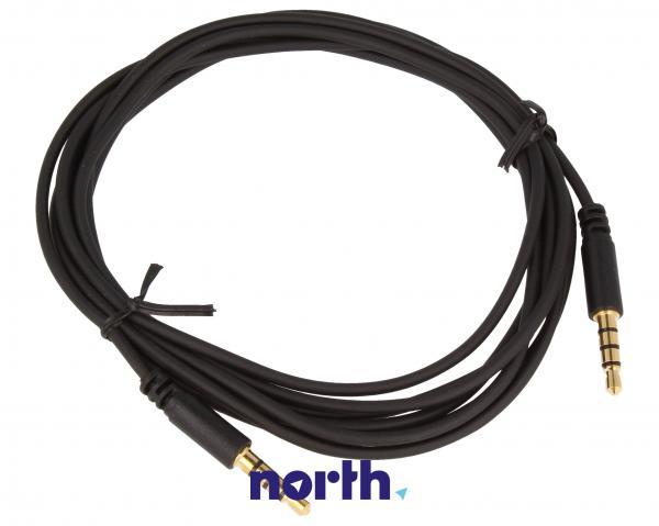 Kabel 2m JACK 3.5mm 4 pin - JACK (wtyk/3.5mm 4 pin wtyk) standard,0