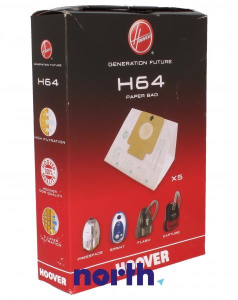 Worek do odkurzacza H64 Hoover 5szt. 35600637,0