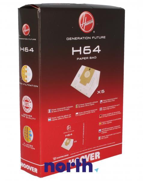 Worek do odkurzacza H64 Hoover 5szt. 35600637,1