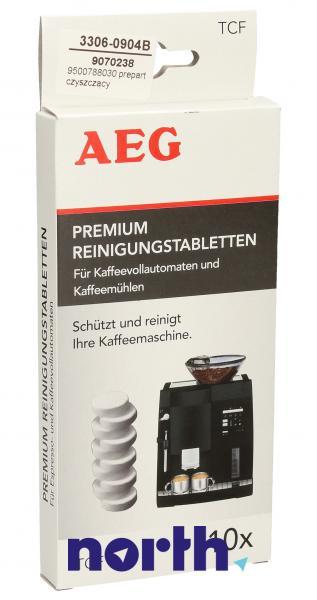 Preparat czyszczący (tabletki) TCF 10szt. do ekspresu do kawy AEG 9500788030,0