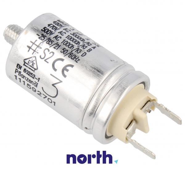 Kondensator rozruchowy pompy myjącej do zmywarki AEG 1115927012,0