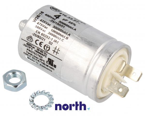Kondensator rozruchowy pompy myjącej do zmywarki 481212118277,0