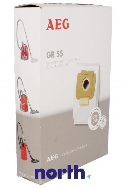 Worek do odkurzacza GR5S AEG 8szt. (+2 filtry) 9002565407,0