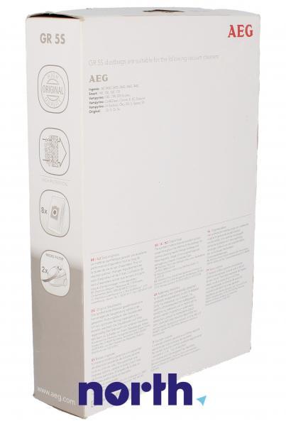 Worek do odkurzacza GR5S AEG 8szt. (+2 filtry) 9002565407,1