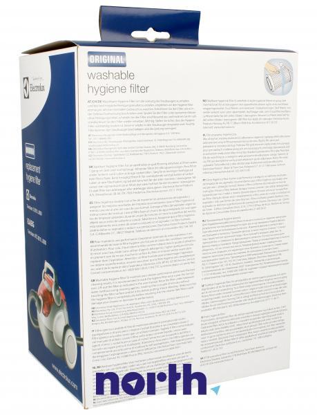 Filtr cylindryczny EF78 bez obudowy do odkurzacza Electrolux 9001967018,1