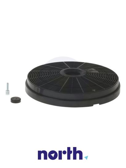 Filtr węglowy aktywny aktywny w obudowie do okapu Siemens 00665713,1