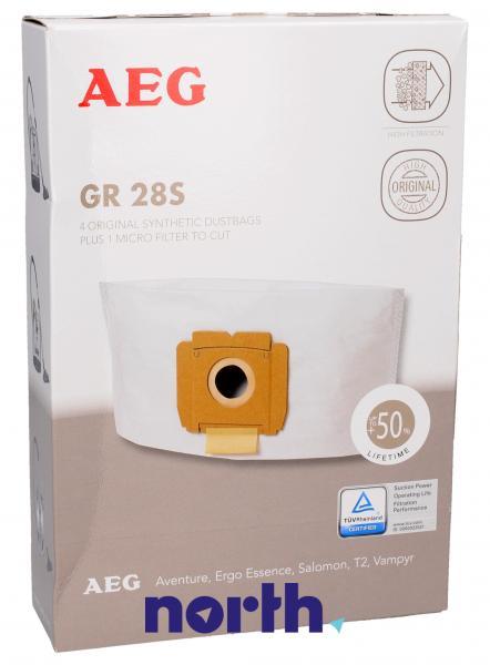 Worek do odkurzacza GR28S AEG 4szt. (+filtr) 9002565423,0