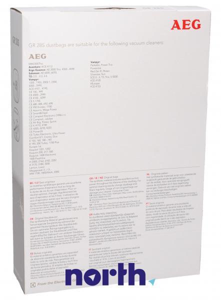 Worek do odkurzacza GR28S AEG 4szt. (+filtr) 9002565423,1
