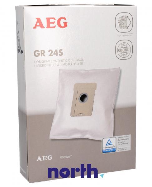 Worek do odkurzacza GR24S Electrolux 4szt. (+2 filtry) 9002565415,0