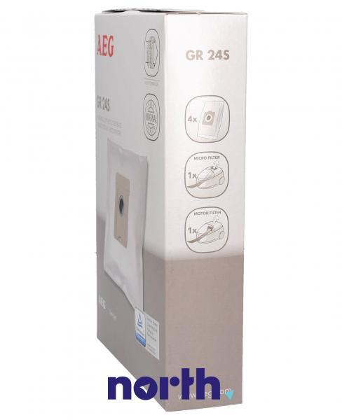 Worek do odkurzacza GR24S Electrolux 4szt. (+2 filtry) 9002565415,2