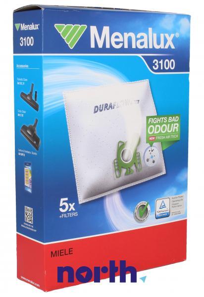 Worki 3100 (5szt.) + filtr do odkurzacza 9001961508,0