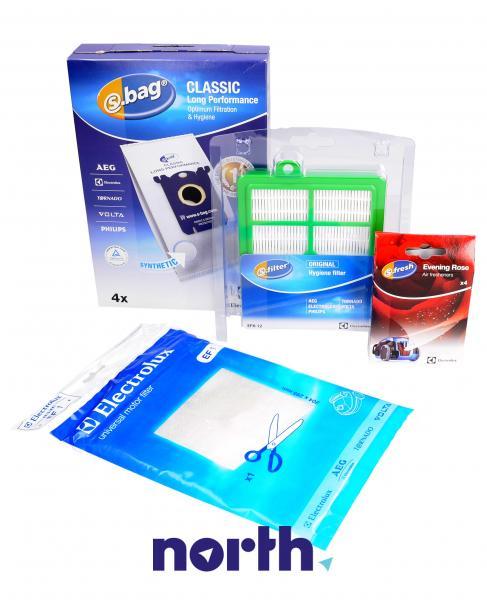Zestaw startowy: worki, filtry, wkład zapachowy VCSK1 do odkurzacza Electrolux 9002566918,0