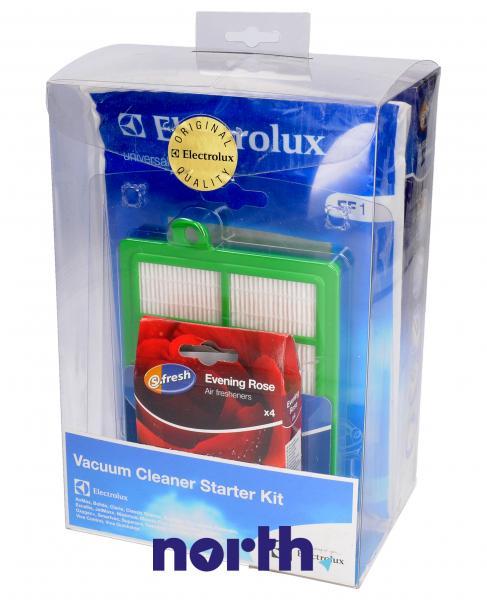 Zestaw startowy: worki, filtry, wkład zapachowy VCSK1 do odkurzacza Electrolux 9002566918,1