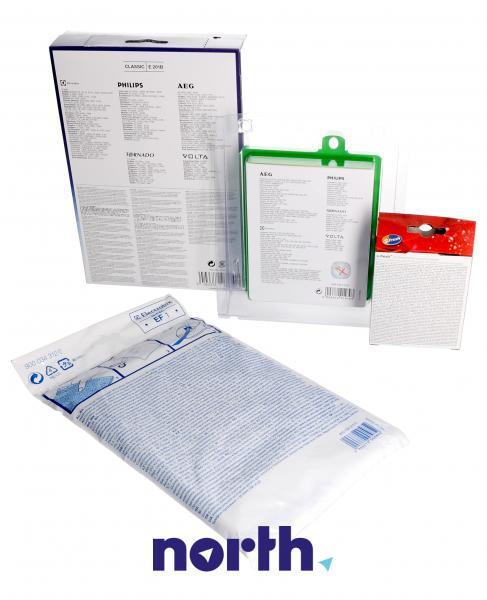 Zestaw startowy: worki, filtry, wkład zapachowy VCSK1 do odkurzacza Electrolux 9002566918,2