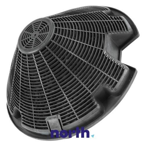 Filtr węglowy aktywny w obudowie do okapu Electrolux 50292304008,0