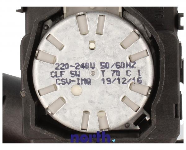 Zawór trójdrożny pompy myjącej do zmywarki Whirlpool 481236058515,3