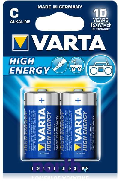 R14 | LR14 | MN1400 Bateria C alkaliczna 1.5V Varta (2szt.),0