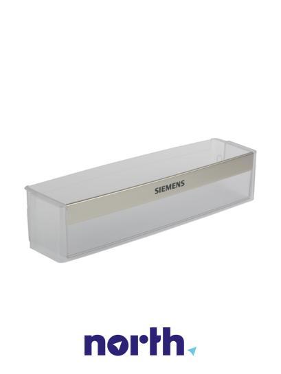 Balkonik | Półka na butelki na drzwi chłodziarki (dolna) do lodówki Siemens 00667995,1