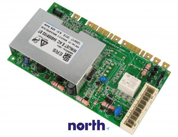 Moduł elektroniczny 651051822 skonfigurowany do pralki Ardo 546089103,1