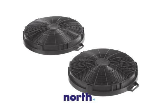 Filtr węglowy LZ54650 LZ54750 aktywny w obudowie do okapu Siemens 00644195,1