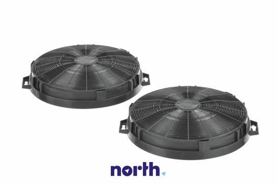 Filtr węglowy LZ54650 LZ54750 aktywny w obudowie do okapu Siemens 00644195,2