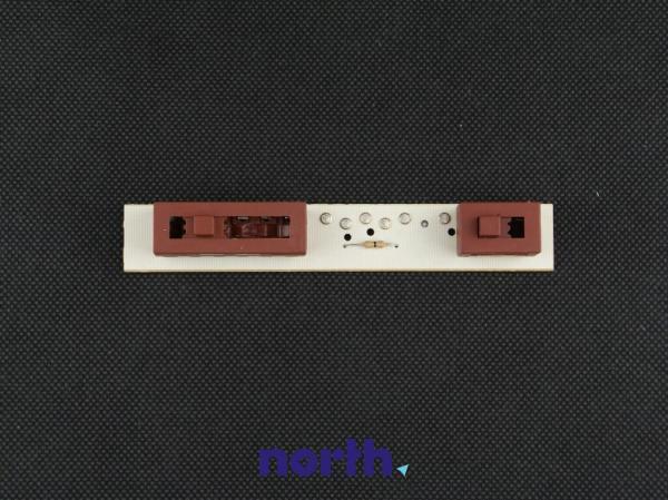 Sterownik | Płytka z przełącznikami panelu sterowania do okapu Whirlpool 481221470047,0