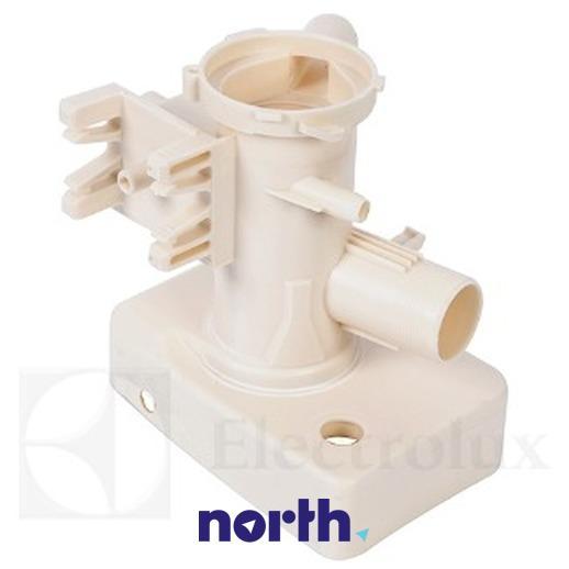 Obudowa pompy odpływowej z filtrem do pralki Electrolux 1320715533,1