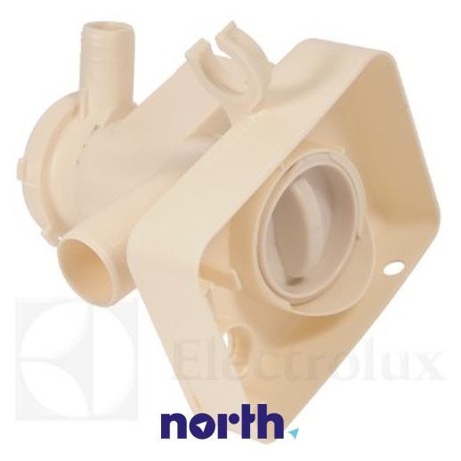 Obudowa pompy odpływowej z filtrem do pralki Electrolux 1320715533,2