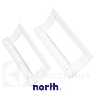 Rączka | Uchwyt drzwi chłodziarki zespół do lodówki AEG 960018281,2