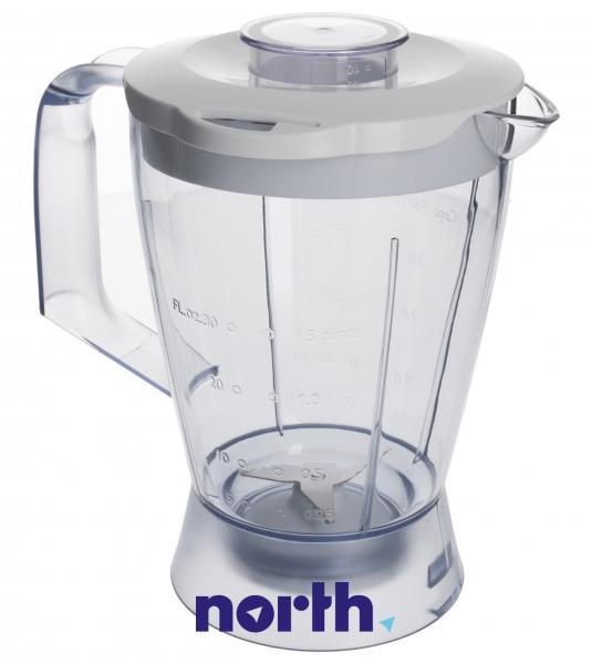 Dzbanek | Pojemnik CRP574 blendera kompletny do robota kuchennego Philips 420306550480,0