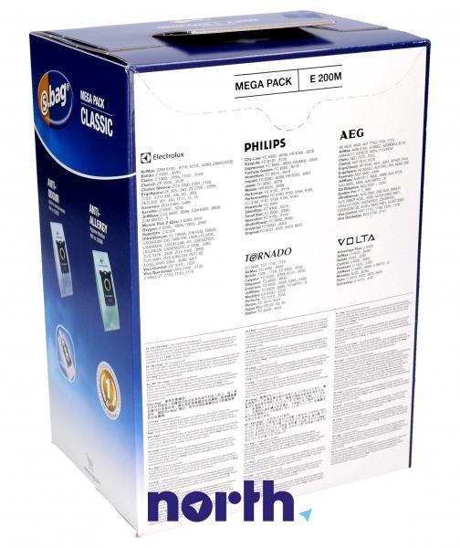 Worki S-Bag E200M (15szt.) do odkurzacza 9001967695,1