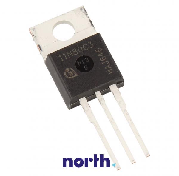 11N80C3 Tranzystor TO-220 (n-channel) 800V 11A 66MHz,0