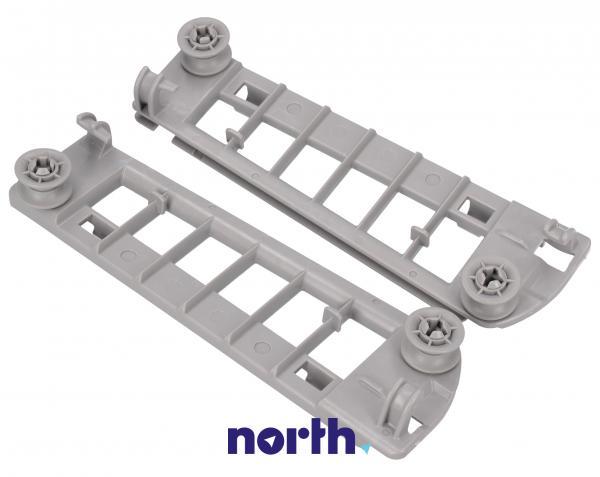 Mocowanie szuflady na sztućce z rolkami do zmywarki Siemens 00645113,0