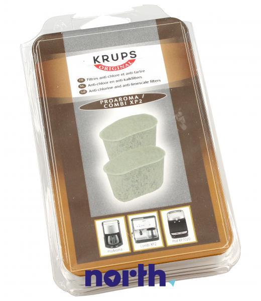 Filtr wody YX103601 do ekspresu do kawy Krups YX103601 2szt.,0