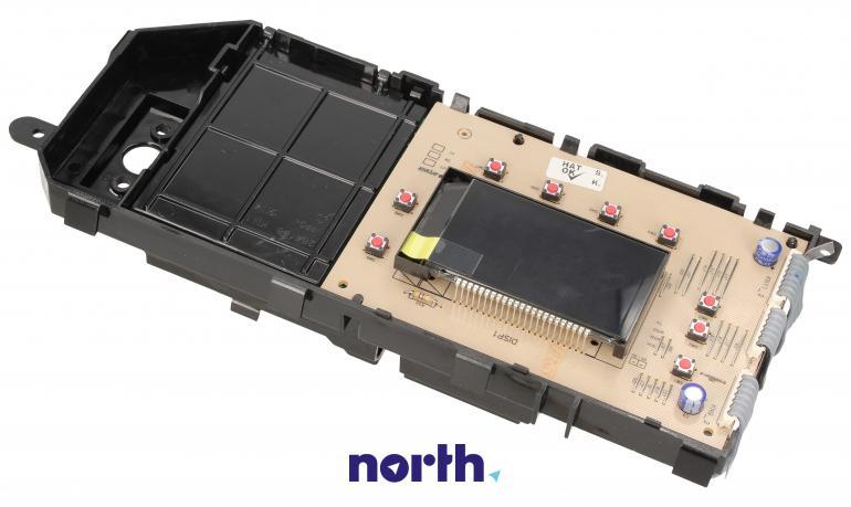Moduł obsługi panelu sterowania z wyświetlaczem do pralki Beko 2824357210,1