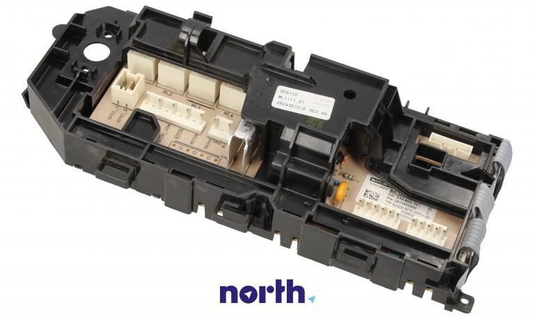 Moduł obsługi panelu sterowania z wyświetlaczem do pralki Beko 2824357210,2