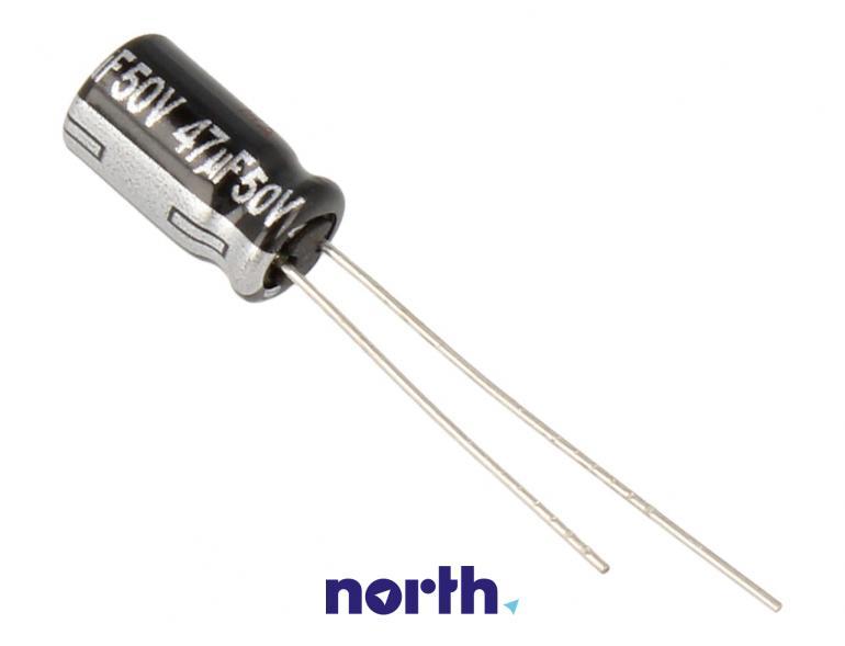 Kondensator elektrolityczny 47uF/50V ECA1HHG470,0