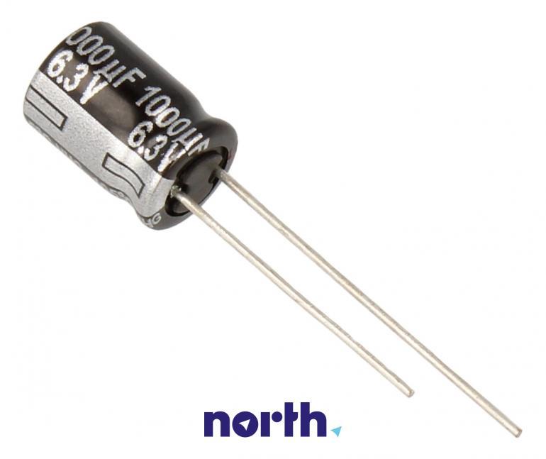Kondensator elektrolityczny 1000uF/6.3V ECA0JHG102,0