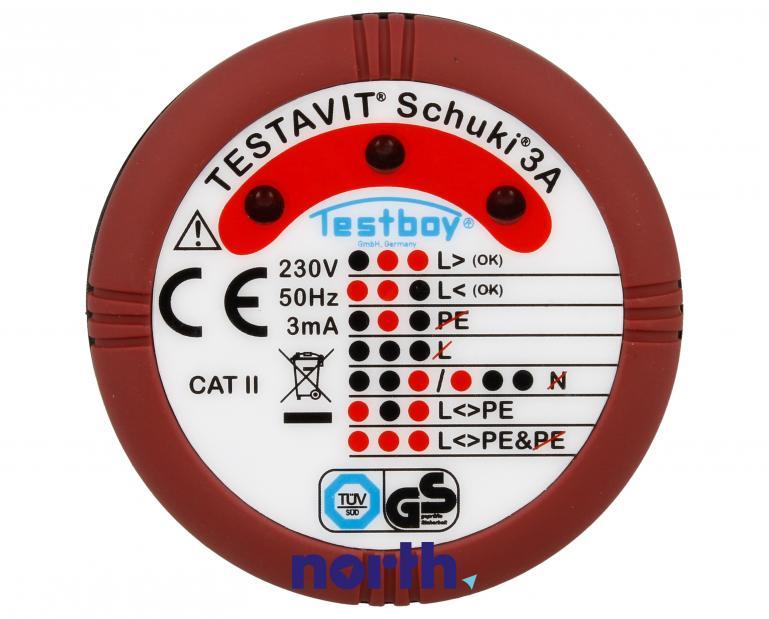 Tester elektryczny Testboy TESTAVITSCHUKI3A,4