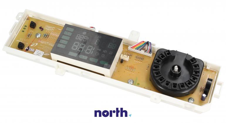 Moduł obsługi panelu sterowania z wyświetlaczem do pralki Samsung DC9201222A,0