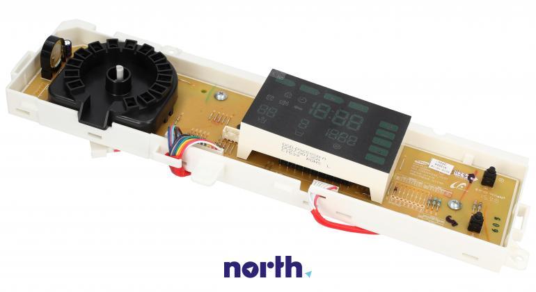 Moduł obsługi panelu sterowania z wyświetlaczem do pralki Samsung DC9201222A,1