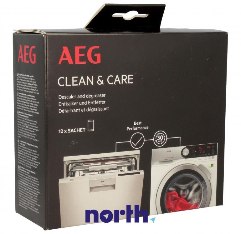 Środek czyszczący do zmywarki i pralki AEG 9029798056 600g,0