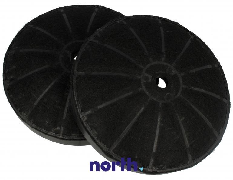 Filtr węglowy okrągły KF 17154 do okapu Amica 14cm 2szt.,0