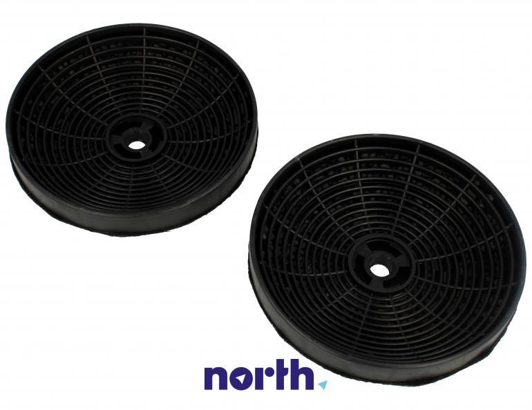 Filtr węglowy okrągły KF 17154 do okapu Amica 14cm 2szt.,3