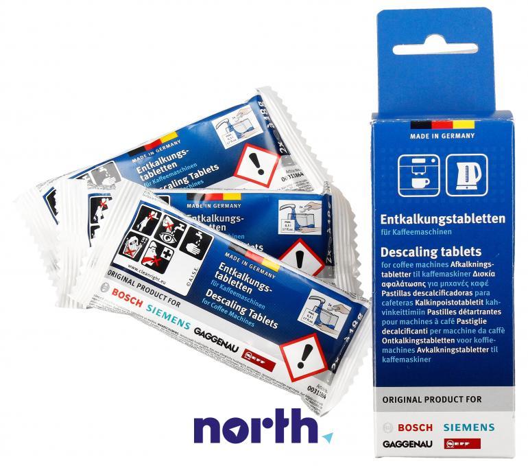 Tabletki odkamieniające do ekspresu Bosch TZ60002 00311864,1