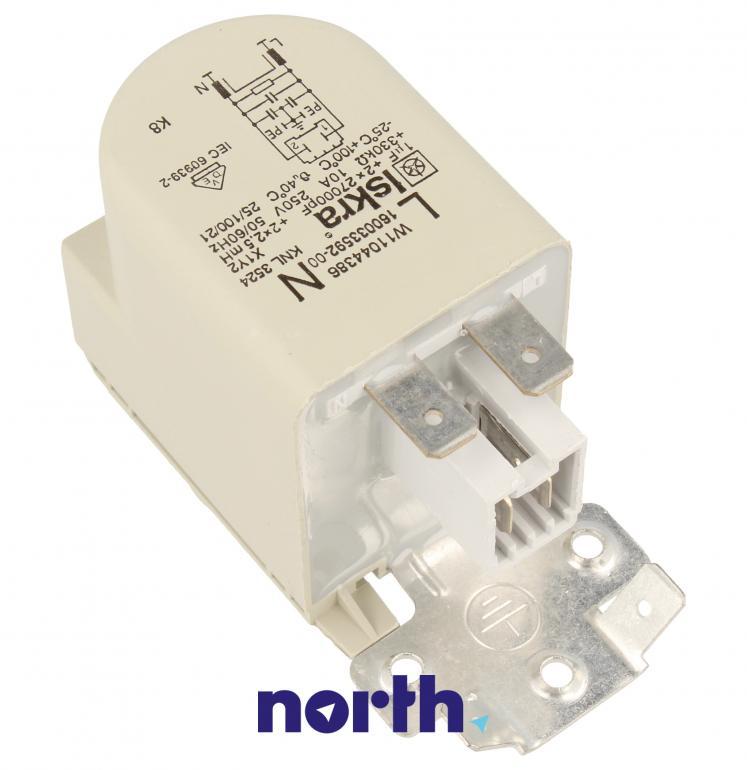 Kondensator rozruchowy do pompy myjącej do zmywarki Whirlpool 488000514073,1